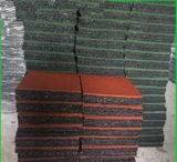 Tegel van de Vloer van de Bevloering van de Betonmolen van de veiligheid de Openlucht Rubber
