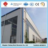 직류 전기를 통한 Prefabricated 가벼운 강철 프레임 구조 창고