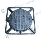 Tampas de câmara de visita Ductile En124 do ferro da drenagem A15 B125 C250 D400 E600 F900
