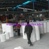 Couverture de fibre de céramique isolante thermique réfractaire MSDS