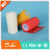 De sport médical coloré chaud de 2017 bandage cohésif auto-adhésif ventes