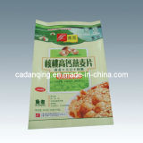 Alimento Bags, 3 Sides Seal Packaging para Bean Powder/Cornmeal (DQ148)