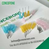 Agulha sem corte descartável para o uso industrial, agulha de Iriigation para dental