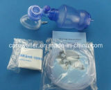 Beschikbare Ambu van het Zuurstofapparaat van Mannual van het Silicone van pvc Zak