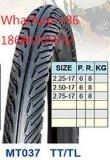 Neumático 2.75-17 3.25-16 de la motocicleta