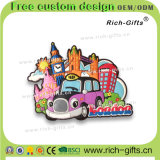 Belüftung-Kühlraum-Magneten mit Karikatur-Förderung-Geschenk-London-Taxi Großbritannien (RC-UK)