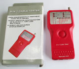 5 in in 1 Kabel-Prüfvorrichtung RJ45/11/12 BNC USB und RCA