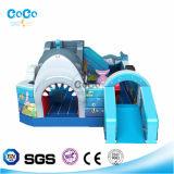 Aufblasbares Haifisch-Prahler-Schloss für Kinder 3-15 LG9016
