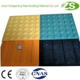 Tipo material de construção de advertência do revestimento de Guilding da segurança tátil