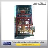 Ecf verticale automatico completo della macchina della gomma piuma di Polyuerthane (A/B)