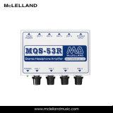 amplificateur stéréo d'écouteur de la Manche 4output (MQS-53R)
