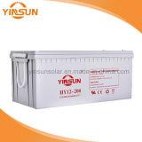 батарея надежного качества 12V 200ah серая солнечная свинцовокислотная