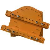 Rotator de empilhadeira hidráulica de 360 graus (fixador de empilhadeira)