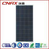 Comitato solare di alta efficienza 155W delle cellule del grado un poli con il Ce di IEC di TUV