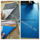 Tapis dur imperméable à l'eau de plancher de vinyle de PVC de support