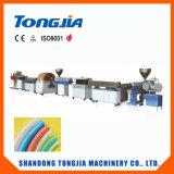 PVC 나선형 철강선 강화된 투명한 호스 생산 선 플라스틱 기계