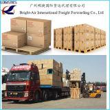 Coletando e seguindo o navio de carga mundial do ar do transporte de logística de China a global