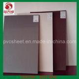 Hojas del cloruro de polivinilo (PVC)