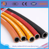 Tuyau en caoutchouc tressé de fil simple ou double à haute pression