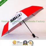 Automatisch arbeiten Geschenk-Regenschirm mit UV für Deutschland-Markt zusammen (FU-3821ZFA)