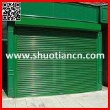 Portes en aluminium à télécommande de rouleau (ST-003)