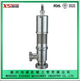 Sicherheits-Sicherheitsventil des 38.1mm Edelstahl-Ss304 Ss316L gesundheitliches hygienisches pneumatisches