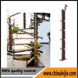 Balustrades intérieures d'escalier d'acier inoxydable