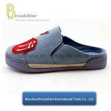 Ботинки Semi-Тапочки вскользь с материалом Jean