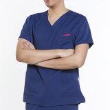 قوّة بحريّة اللون الأزرق يدعك قطن [أونيسإكس] طبّيّ أو بدلة