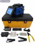 Lichtbogen-Schmelzverfahrens-Filmklebepresse-System Skycom T-107FTTH