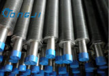 Tubo serrado soldadura de alta frecuencia de la aleta de la buena calidad