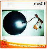 シリコーンの機械出版物240V 500Wの直径350*1.5mmのための円形のパッドのヒーター