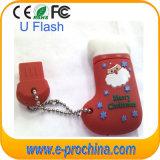 무료 샘플 (EG101)를 위한 선전용 크리스마스 선물 USB 4GB 재고 USB 섬광 드라이브