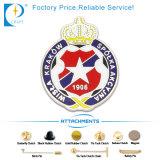 Aleación modificada para requisitos particulares alta calidad de China de la fuente que estampa la divisa del Pin en el precio de fábrica
