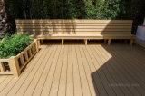 Decking composé en plastique en bois du Decking/WPC