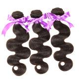 Malaysia-Jungfrau-Haar-Karosserien-Welle 4 Bündel Grad-Jungfrau-unverarbeitetes Menschenhaar-nasses und wellenförmiges Jungfrau-Haar der Rosa-Haarpflegemittel-8A