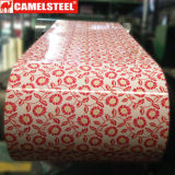 花模様デザインカラー鋼板のコーティングの鋼鉄コイル