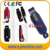 USB 저속한 Dirver 가죽 USB 펜 드라이브 (EL002)