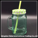 450ml Purple Colored Glass Mason Jar