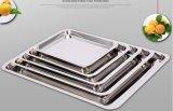 Roestvrij staal Food Tray voor Kitchenware