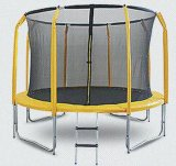 Outdoor Round Trampoline Fitness in for Yard Family Fun