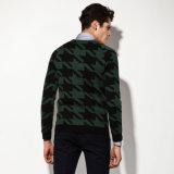 アクリルのウールの方法衣類のジャカードニットのプルオーバーの人のセーター