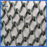 Treillis métallique galvanisé de maillon de chaîne (usine)