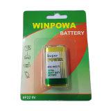 Bateria R6p do cloreto do zinco da bateria seca