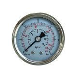 type de Wika de l'acier inoxydable 2inch mesures de pression hydraulique avec de l'huile de silicone