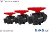 Instalaciones de tuberías del PVC de las vávulas de bola del ANSI ASTM