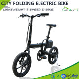 7 속도 전기 자전거를 접혀 전기 자전거 250W 라이트급 선수