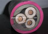 Het rubber stak Flexibele Kabel in de schede