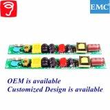 6-20W PF0.95 EMC QS1085를 가진 비고립 램프 전력 공급