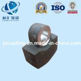Bastidor de arena/pista de martillo de la pieza de acero fundido